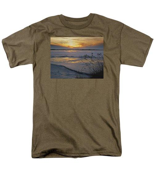 Men's T-Shirt  (Regular Fit) featuring the photograph Setting Sun by Judy Johnson