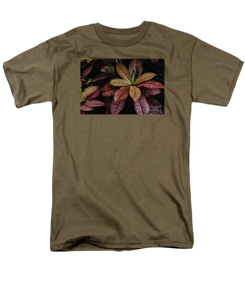 Men's T-Shirt  (Regular Fit) featuring the photograph Shades Of Red by Judy Wolinsky