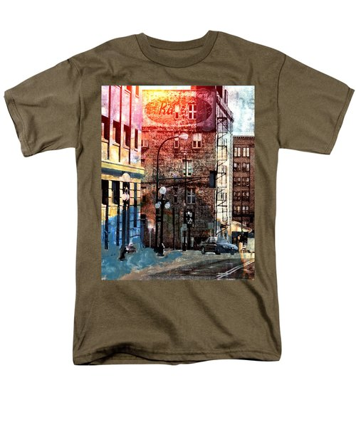 Shadow On St. Paul Men's T-Shirt  (Regular Fit) by Susan Stone