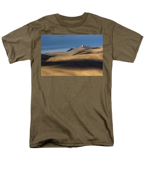 Shadows On Hills Men's T-Shirt  (Regular Fit) by Hitendra SINKAR