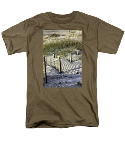 Shadows On The Dune Men's T-Shirt  (Regular Fit) by Elizabeth Eldridge