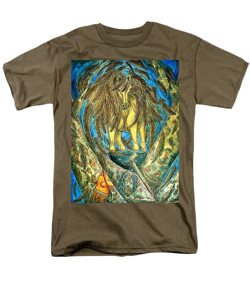 Shaman Spirit Men's T-Shirt  (Regular Fit) by Kim Jones