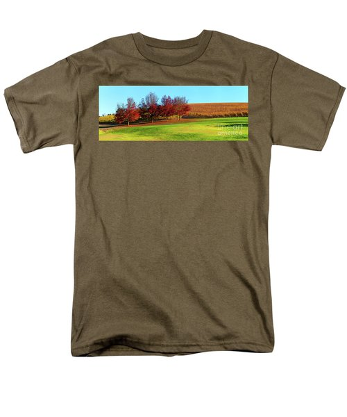 Men's T-Shirt  (Regular Fit) featuring the photograph Shaw And Smith Winery by Bill Robinson