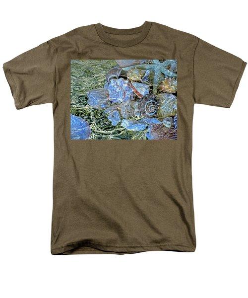 Shells Underwater 20 Men's T-Shirt  (Regular Fit) by Lynda Lehmann