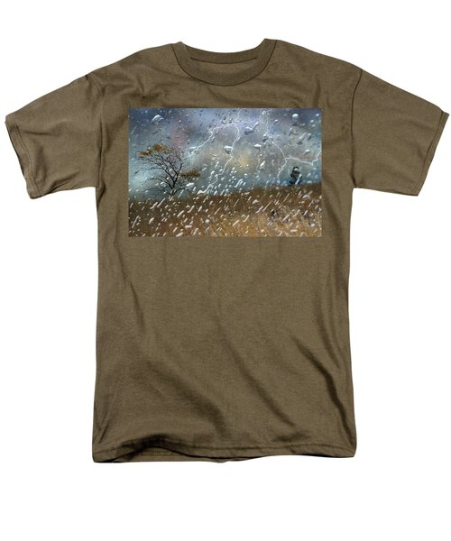 Shelter From The Storm Men's T-Shirt  (Regular Fit) by Ed Hall