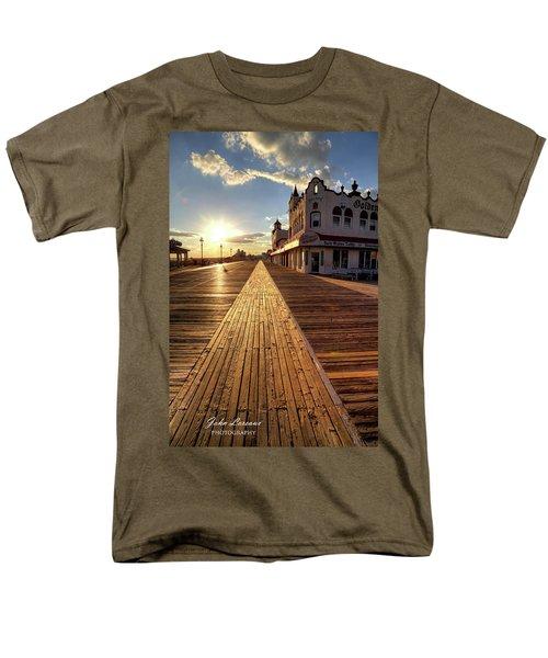 Shining Walkway Men's T-Shirt  (Regular Fit) by John Loreaux