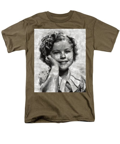 Shirley Temple By Mary Bassett Men's T-Shirt  (Regular Fit) by Mary Bassett