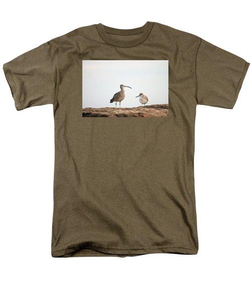 Shorebirds Of Windansea Beach Men's T-Shirt  (Regular Fit) by Bruce Patrick Smith