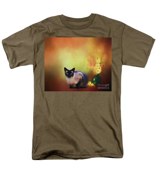 Siamese If You Please Men's T-Shirt  (Regular Fit) by Suzanne Handel