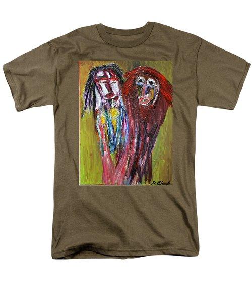 Siblings   Men's T-Shirt  (Regular Fit) by Darrell Black