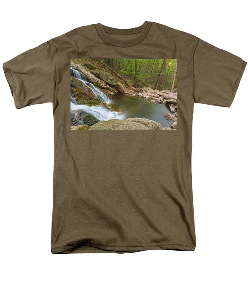 Side Slide Into The Pool Men's T-Shirt  (Regular Fit) by Angelo Marcialis