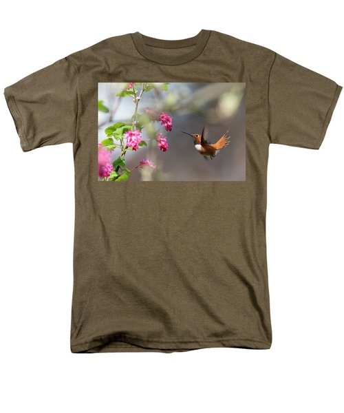 Sign Of Spring 3 Men's T-Shirt  (Regular Fit) by Randy Hall
