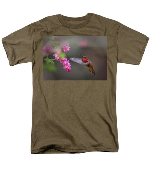 Sign Of Spring Men's T-Shirt  (Regular Fit) by Randy Hall