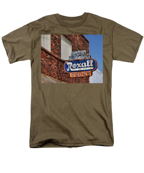 Sign Of The Past Men's T-Shirt  (Regular Fit) by David and Carol Kelly