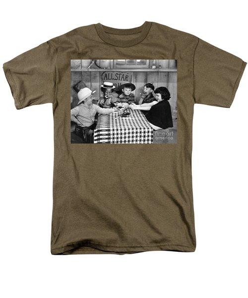 Silent Film: Little Rascals Men's T-Shirt  (Regular Fit) by Granger