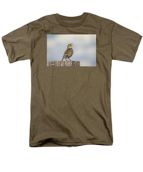 Singing A Song Men's T-Shirt  (Regular Fit)
