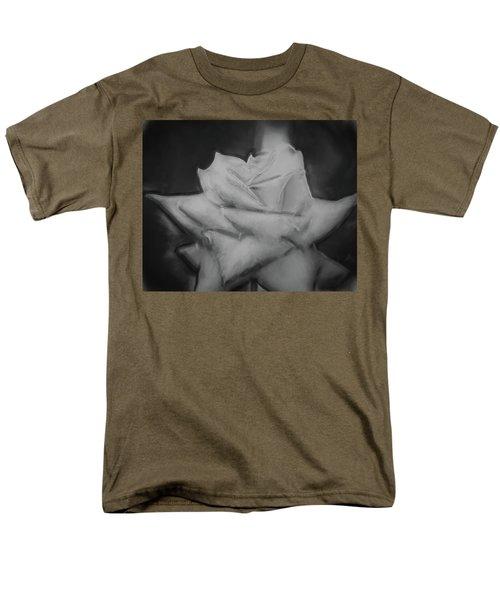 Single Rose Men's T-Shirt  (Regular Fit) by Cathy Jourdan