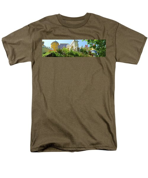 Men's T-Shirt  (Regular Fit) featuring the photograph Sintra Castle by Patricia Schaefer