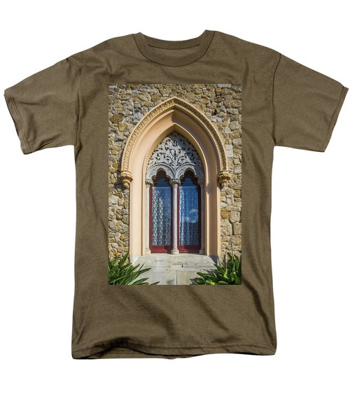 Men's T-Shirt  (Regular Fit) featuring the photograph Sintra Window by Carlos Caetano