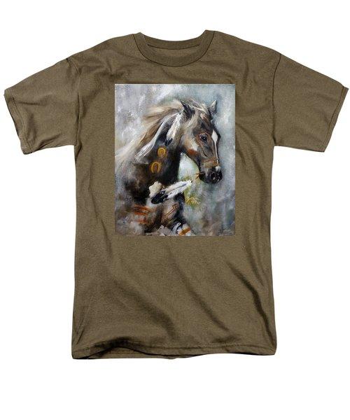 Sioux War Pony Men's T-Shirt  (Regular Fit) by Barbie Batson