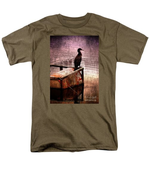 Sitting On The Dock Of The Bay Men's T-Shirt  (Regular Fit) by Clare Bevan