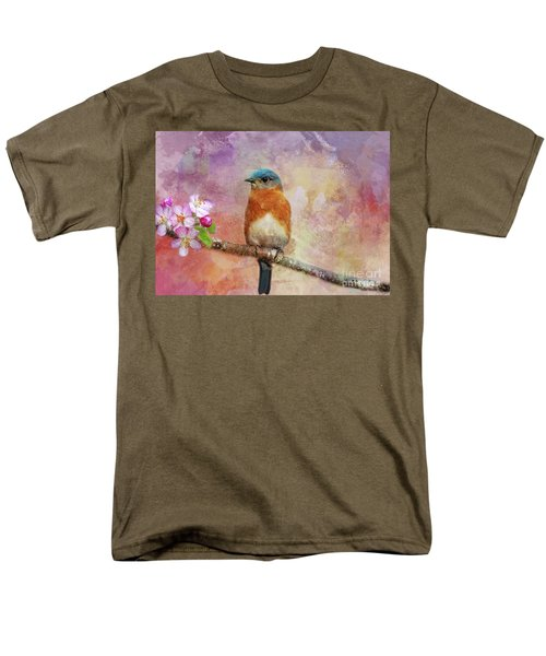 Sitting Pretty Men's T-Shirt  (Regular Fit) by Geraldine DeBoer