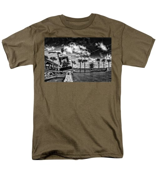 Skate Pushing The Boundries Men's T-Shirt  (Regular Fit) by Kevin Cable