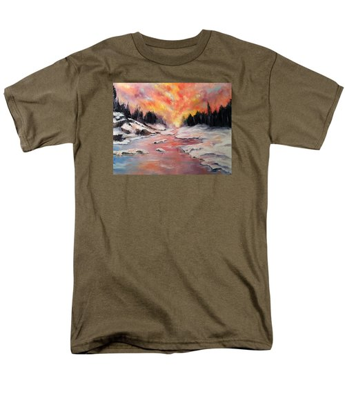Skies Of Mercy Men's T-Shirt  (Regular Fit) by Meaghan Troup