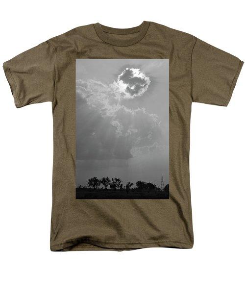 Skn 2170 Blessings Showered Men's T-Shirt  (Regular Fit) by Sunil Kapadia