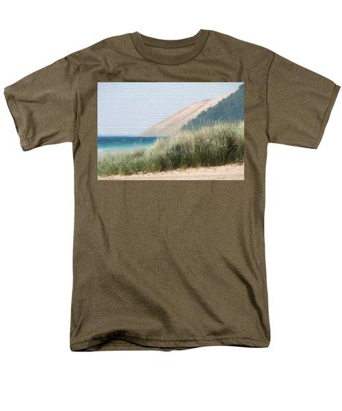 Sleeping Bear Sand Dune Men's T-Shirt  (Regular Fit) by Dan Sproul
