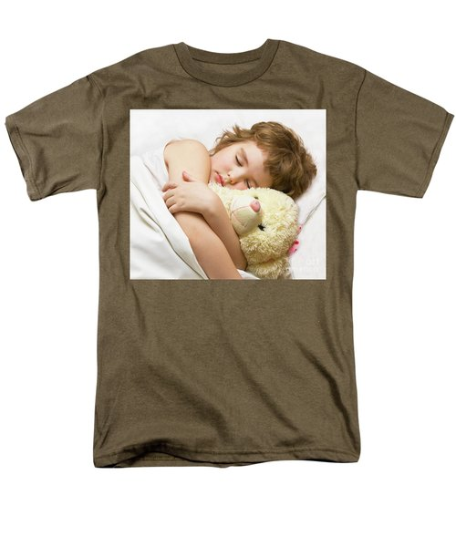 Sleeping Boy Men's T-Shirt  (Regular Fit) by Irina Afonskaya
