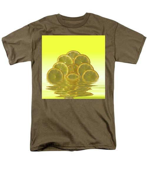 Slices Lemon Citrus Fruit Men's T-Shirt  (Regular Fit) by David French