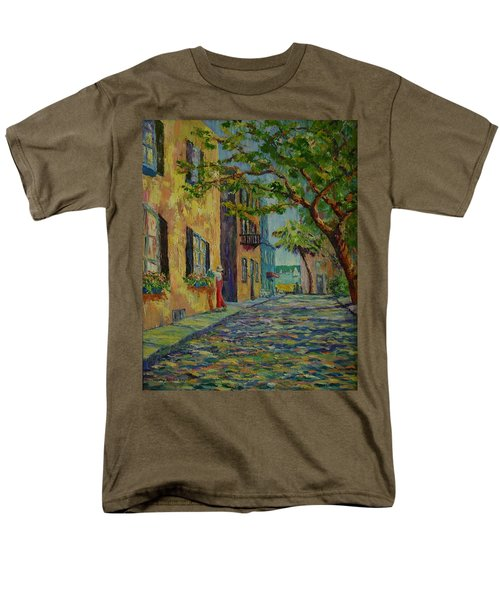 Farmer's Daughter  Men's T-Shirt  (Regular Fit) by Dorothy Allston Rogers