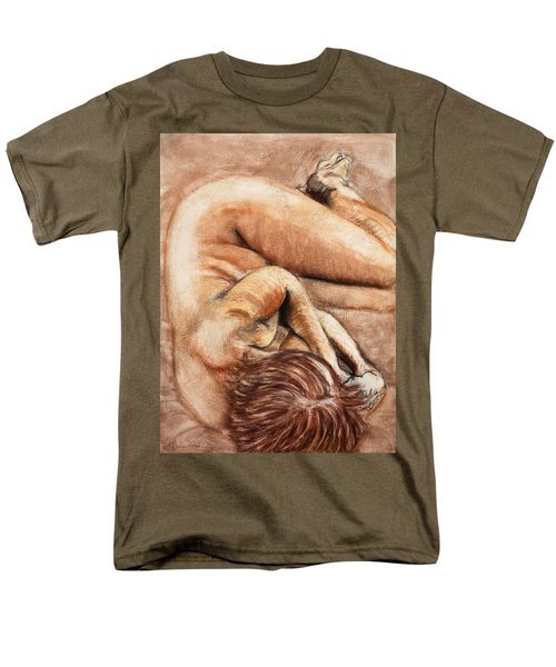 Slumber Pose Men's T-Shirt  (Regular Fit)