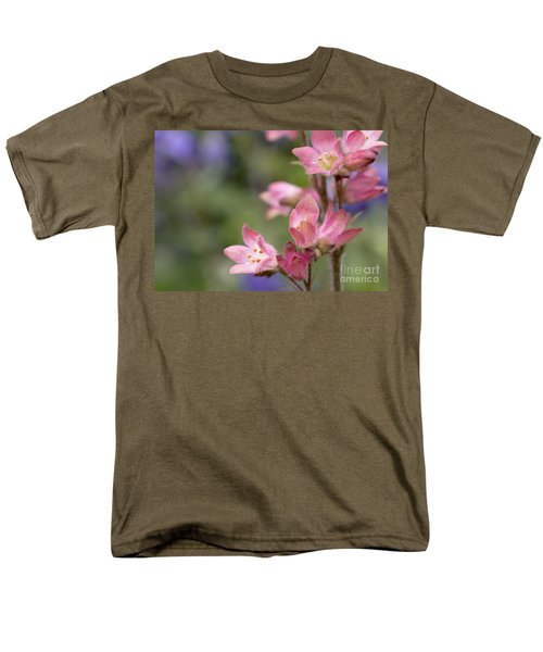 Small Flowers Men's T-Shirt  (Regular Fit) by Tine Nordbred