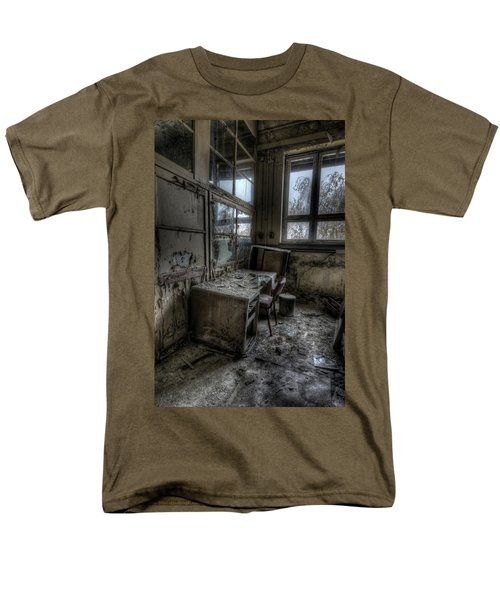Small Office Men's T-Shirt  (Regular Fit) by Nathan Wright