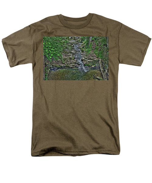 Small Waterfall Men's T-Shirt  (Regular Fit)