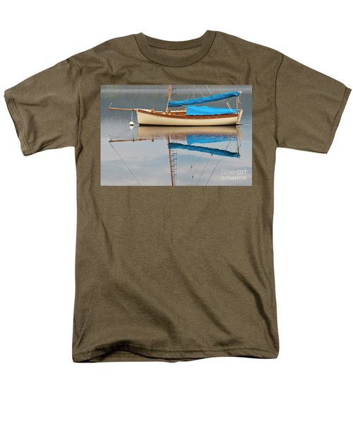 Men's T-Shirt  (Regular Fit) featuring the photograph Smooth Sailing by Werner Padarin