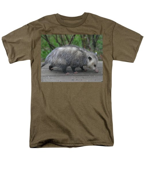 Sniffing Around Men's T-Shirt  (Regular Fit) by Kym Backland