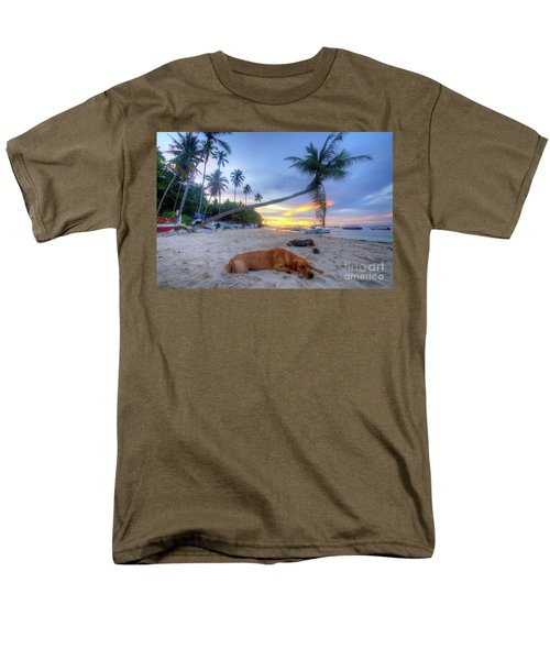 Men's T-Shirt  (Regular Fit) featuring the photograph Snooze by Yhun Suarez