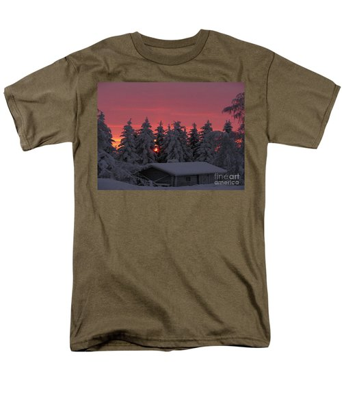 Snowed In Men's T-Shirt  (Regular Fit) by Rod Jellison