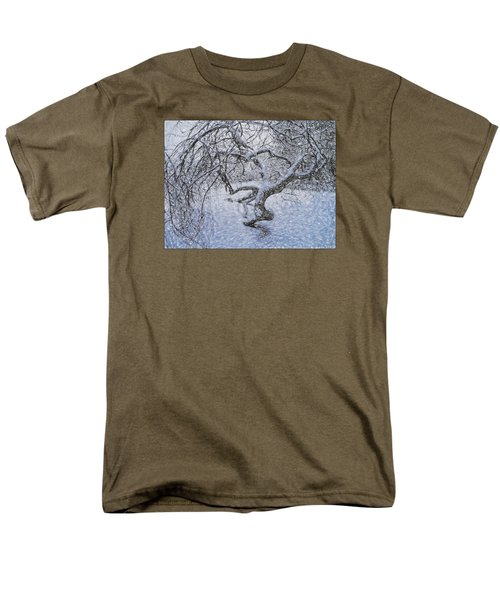 Snowfall Men's T-Shirt  (Regular Fit) by Vladimir Kholostykh
