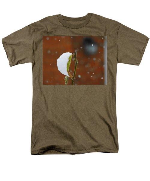 Snowing Men's T-Shirt  (Regular Fit) by Betty-Anne McDonald