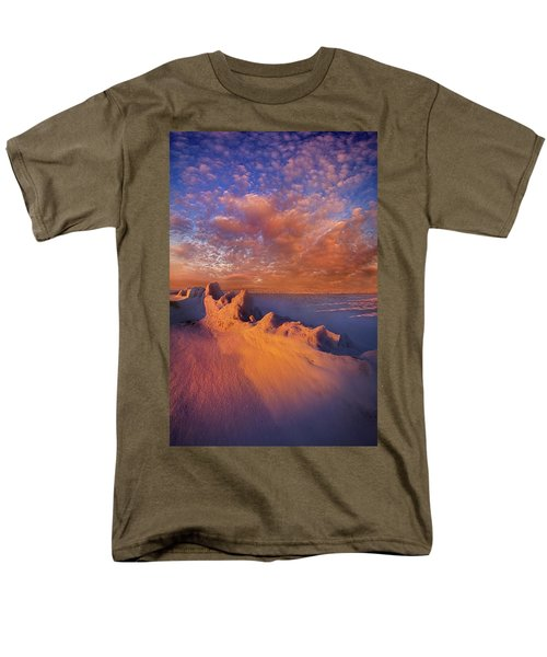 Men's T-Shirt  (Regular Fit) featuring the photograph So It Begins by Phil Koch