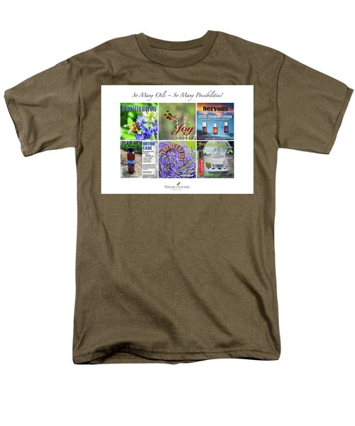 So Many Oils Men's T-Shirt  (Regular Fit) by Cheryl McClure