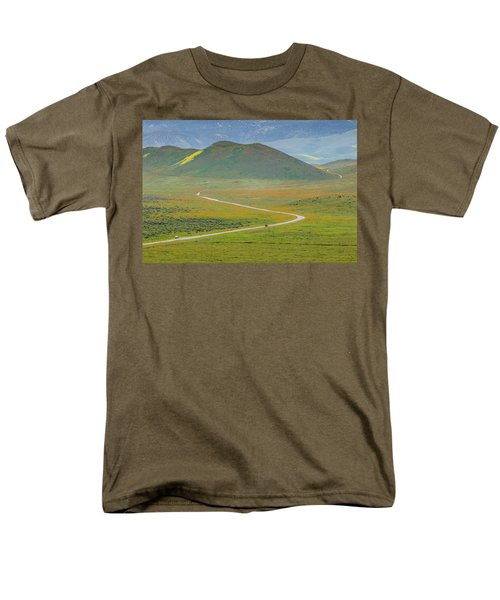 Soda Lake Road Men's T-Shirt  (Regular Fit) by Marc Crumpler