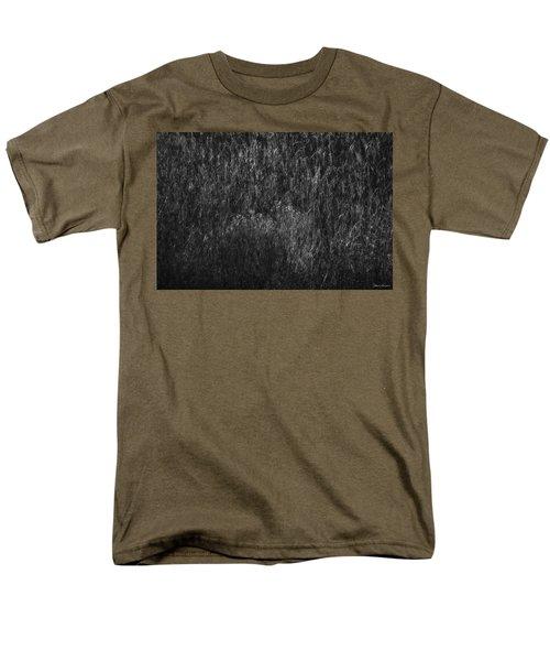 Soft Grass Black And White Men's T-Shirt  (Regular Fit) by Glenn Gemmell