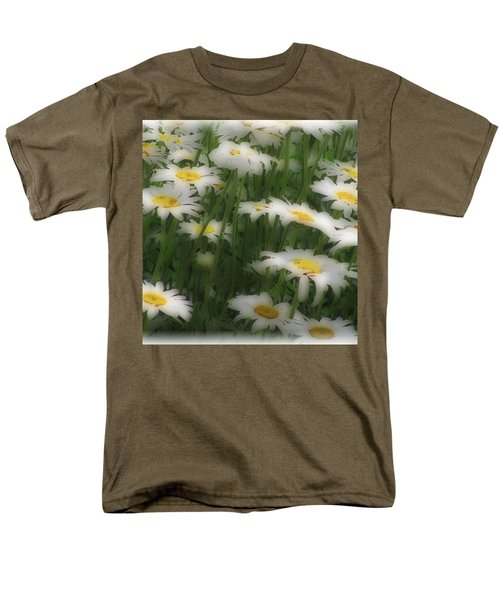 Men's T-Shirt  (Regular Fit) featuring the photograph Soft Touch Daisy by Debra     Vatalaro
