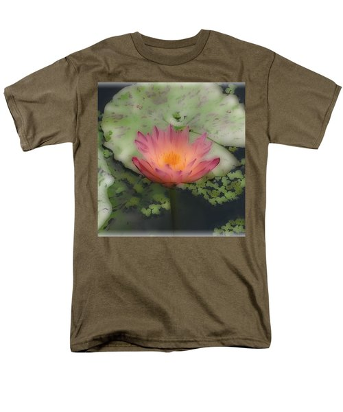Men's T-Shirt  (Regular Fit) featuring the photograph Soft Touch Lily by Debra     Vatalaro