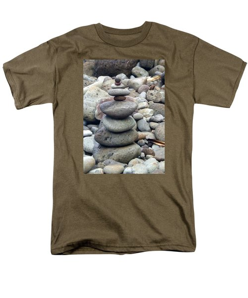 Men's T-Shirt  (Regular Fit) featuring the painting Solace by Angela Annas